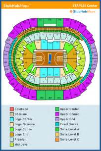 staples center seating chart pictures directions and