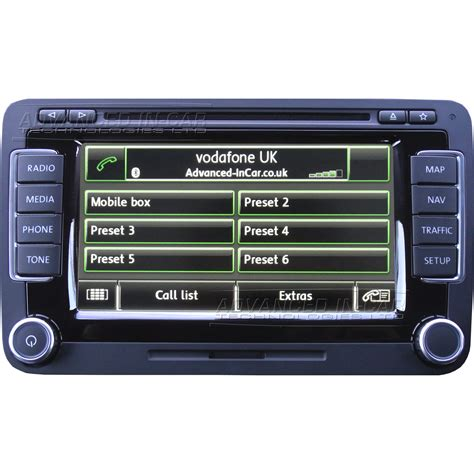 Volkswagen Rns 510 by Volkswagen Vw Rns 510 Sat Nav Retrofit Advanced In Car