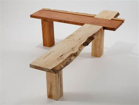 japanese woodworking bench exhibit features furniture inspired by history