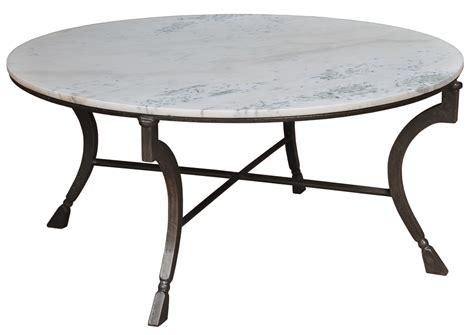 42 quot coffee table iron frame white italian pista