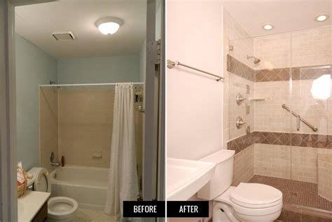 how to remodel a small bathroom before and after before and after bathroom renovations modest on bathroom
