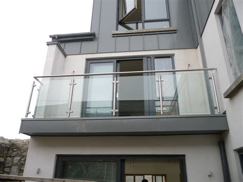 ?Arianna? Stainless Steel Balcony   Spireco Spiral Stairs
