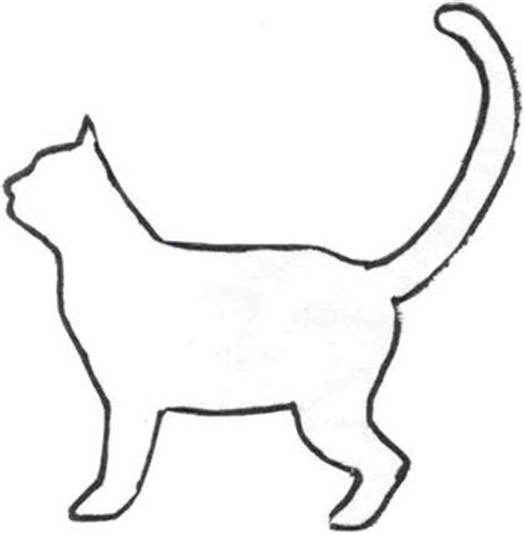 cat template the best free crafts articles free cat pin doll pattern