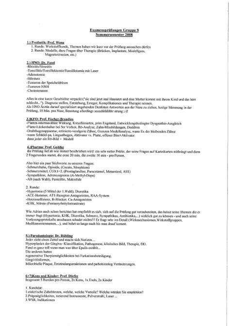 Beschwerdebrief Cd Examensberichte Fachschaft