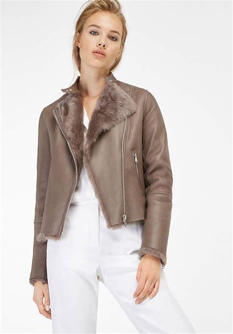 chaqueta cuero massimo dutti chaquetas de cuero en massimo dutti oto 241 o invierno 2016