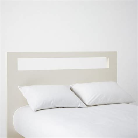 tall white headboard tall wood cutout headboard white west elm