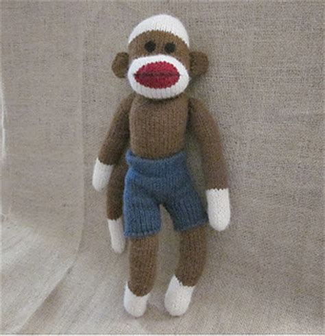clothes pattern for sock monkey ravelry machine knit sock monkey clothes shorts pattern