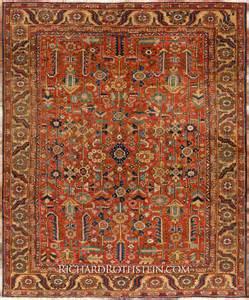 Persan Rugs Rare Antique Heriz Persian Rug C21d8242