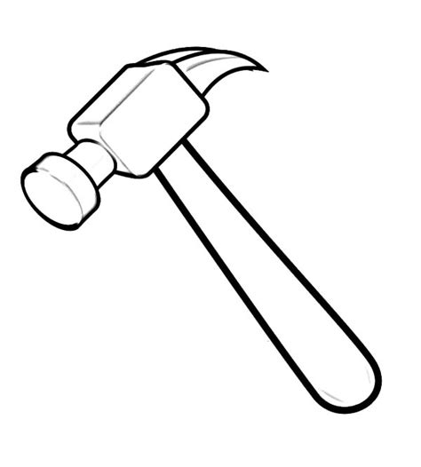 Coloring Page Hammer hammer free colouring pages