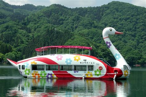 swan boats japan swan maru the first swan boat in japan destinations