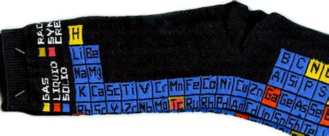 periodic table socks ohgizmo