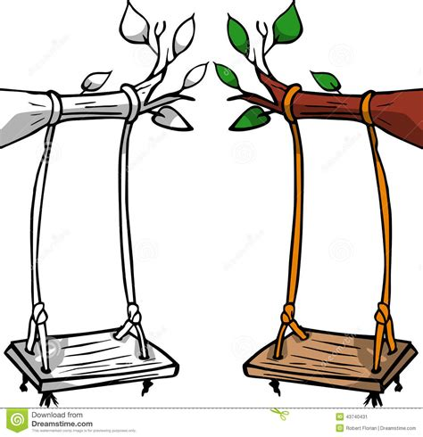 free online swinging tree swing clipart clipart suggest