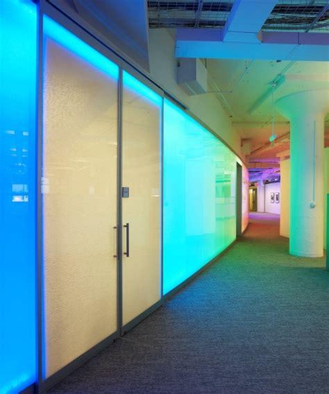 case study frameless backlit walls