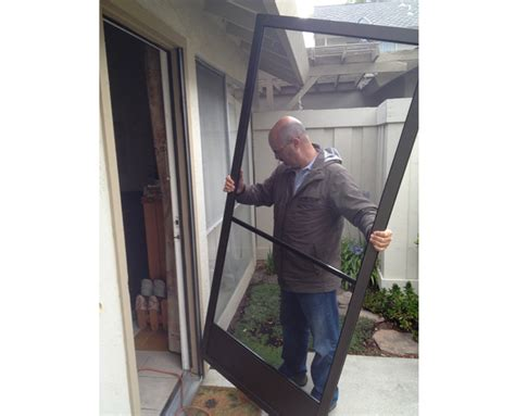 Screen Door Installation by Screen Door Installation Company San Jose Area 408 866 0267 Mountain View Palo Alto