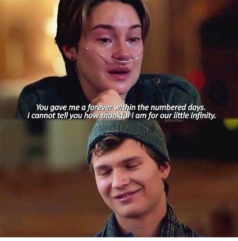 film with quotes tfios movie quotes quotesgram