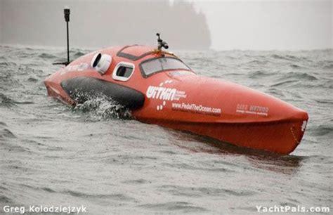 pedal boat ocean building a human powered ocean crossing boat yachtpals