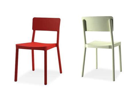 sedie per bar sedia impilabile in plastica per bar e ristoranti idfdesign