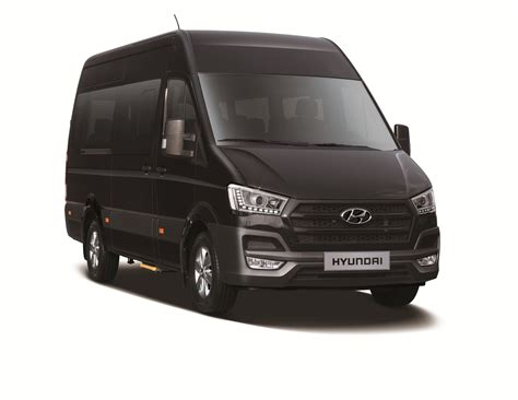 Kia Commercial Vans Hyundai Revealed Official Picture Details Of H350