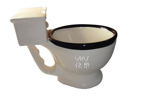 toilet mug personalized engraved big mouth toys toilet mug chinese calligraphy art for sale online oil
