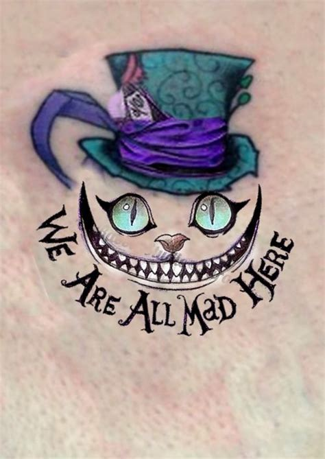 cheshire cat tattoos 25 best ideas about mad hatter on