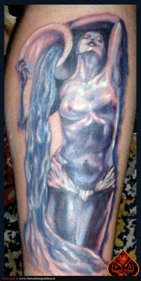aquarius tattoo aquarius tattoos3d tattoos
