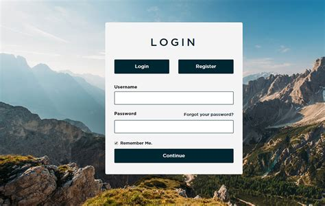 login page template html5 login page template form free premium templates