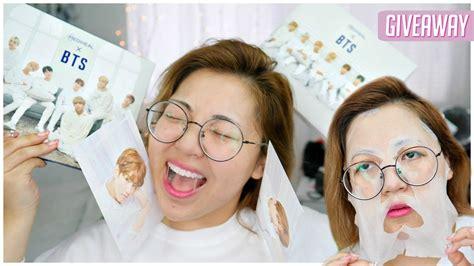 bts x mediheal new bts x mediheal face masks fan girl review giveaway