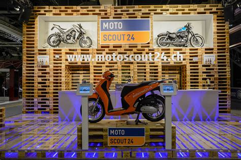 Motoscout 24 It by Swiss Moto Motoscout Messestand Ast Messebau