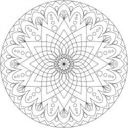 free mandala relaxation coloring pages