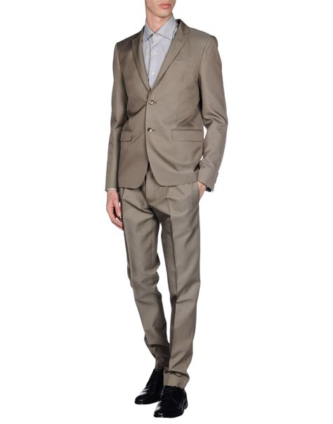 Valentino Suit valentino suit in gray for dove grey lyst