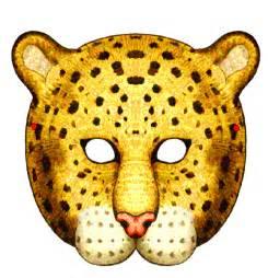 cheetah mask template animal masks templates www imgkid the
