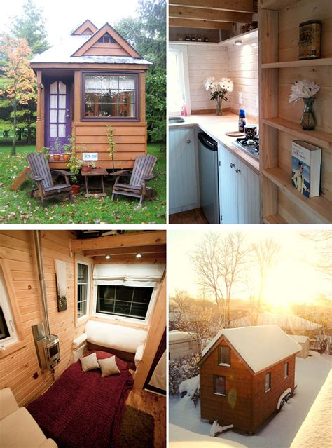 tiny homes interior 20 tiny homes that make the most of a space bored panda