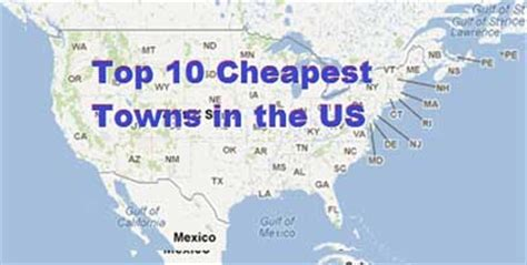 cheapest states to live top 10 cheapest towns in the us the real estate media