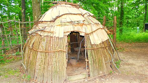 Sips House by Ancient Native American Homes Youtube
