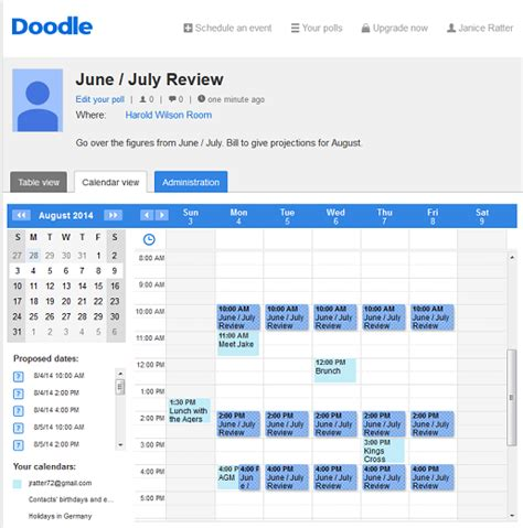 doodle poll reminders the doodle web scheduler doodle