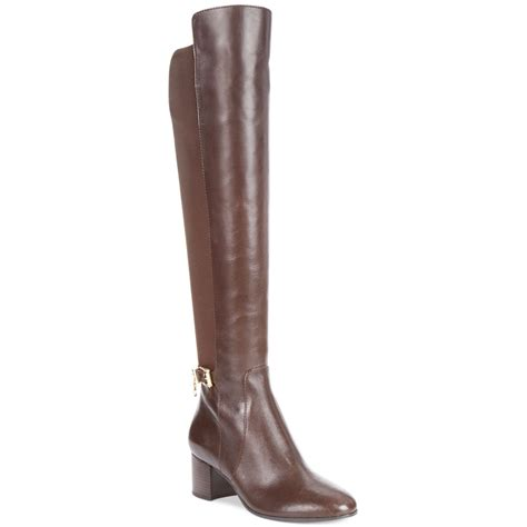 michael kors brown boots michael kors michael aileen boots in brown