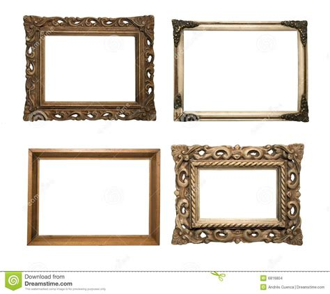 Wooden Clip Seri 1 frames serie stock photo image of wall white