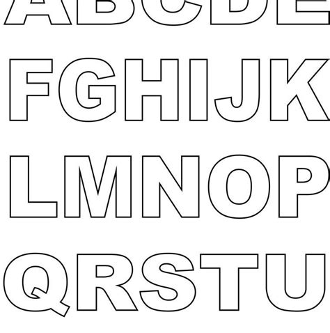 printable alphabet letters in color for free block letter coloring pages free printable colouring kids