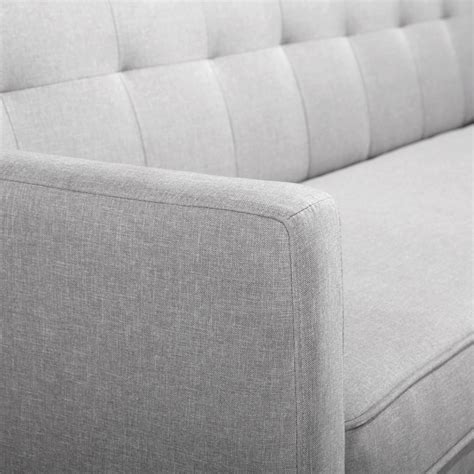 sofa linen fabric 3 seater faux linen fabric sofa