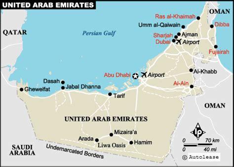 uae map with distance al ain and sharjah uae pt 4 imatraveller globetrotter