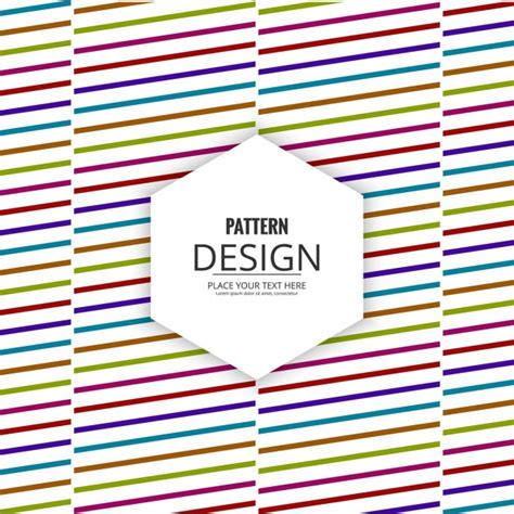 line pattern ai free colorful lines pattern vector free download