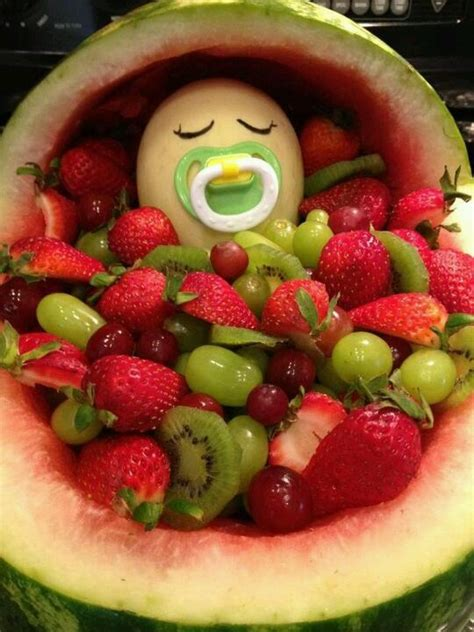 Salad For Baby Shower by Baby Shower Fruit Salad Baby Shower Babies