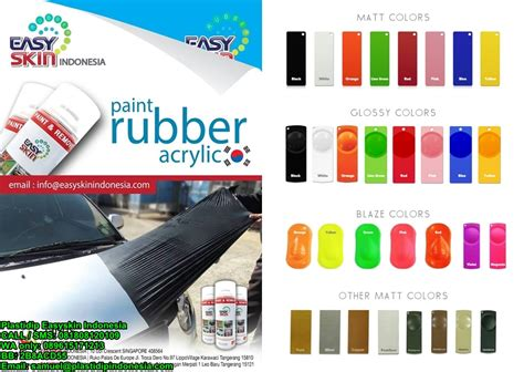 Carlas Rubber Paint Chameleon Cat Carlas Bunglon baru plastidip easyskin indonesia cat sticker removable rubber paint