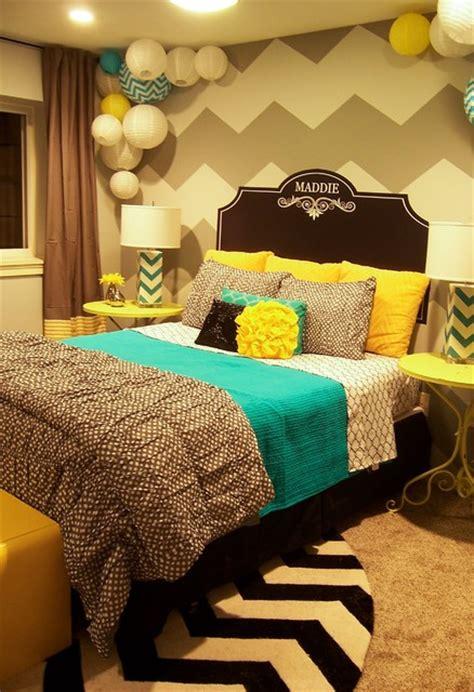 turquoise and yellow bedroom zeeland grey yellow turquoise s room