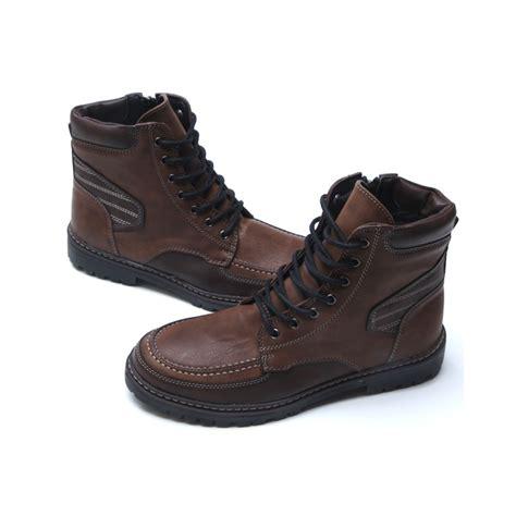 mens combat ankle boots