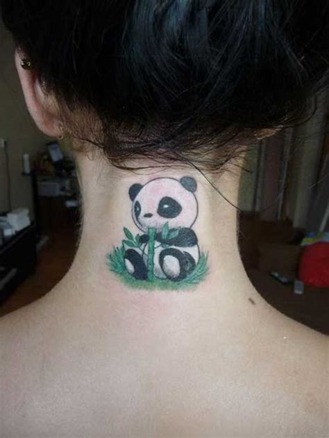 tattoo panda no pé 20 photos panda meanings de tatouages 187 club tatouage