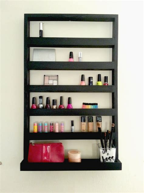 Shelf For Makeup by Makeup Organizer Makeup Shelf Station Nail