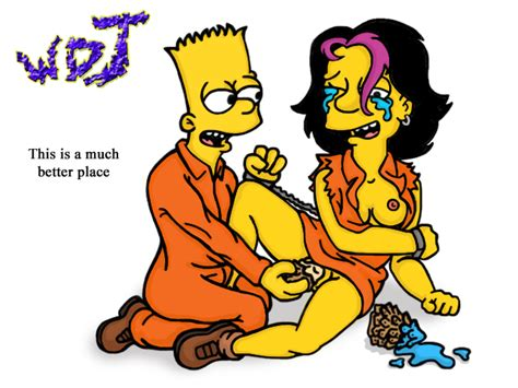 Image Bart Simpson Gina Vendetti The Simpsons Wdj