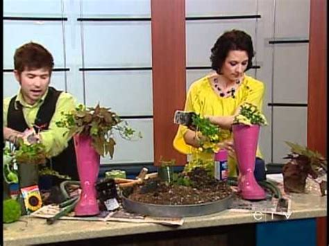 rubber boot decoration magical rubber boot table decoration ctv edmonton may 8