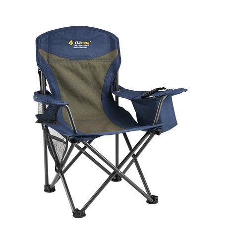 folding chairs bunnings oztrail hercules junior steel folding c chair